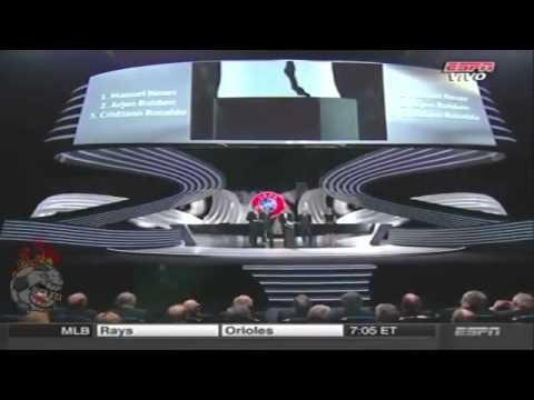 Cristiano Ronaldo Premio Mejor Jugador de Europa 2014 Best Player UEFA