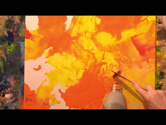 Dreamer - Melted Crayon Art