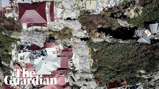 Swamped by mud: drone footage of Indonesia's Petobo village