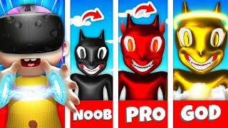 EVIL BABY Upgrades CARTOON CAT In VR (Baby Hands VR Funny Gameplay)