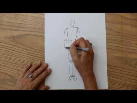 learn how to draw a person