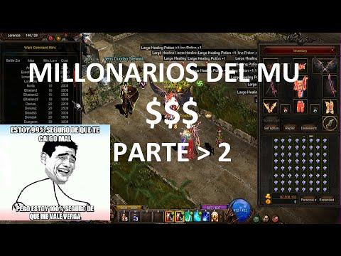 COMO SER MILLONARIOS  PARTE 2  - Mu ONLINE - Secretos del mu? - SEASON 11