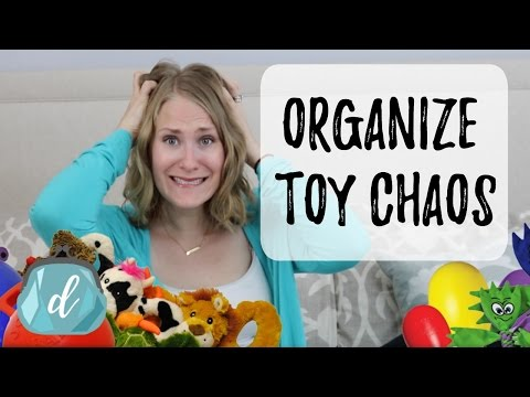 STOP TOY CHAOS! | Toy Rotation & Organization Ideas
