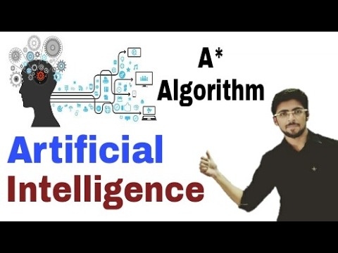 A* algorithm in artificial intelligence in hindi |  #17