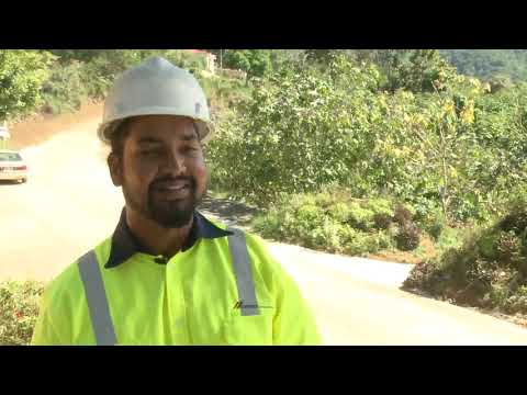 CARIBBEAN CEMENT COMPANY REHABILITATES ROAD IN LITCHFIELD, MANCHESTER