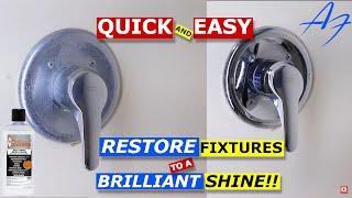 How To: Restore POLISH Bathroom Fixtures You Won't Believe