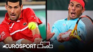 Rafael Nadal v Novak Djokovic | Roland Garros 2020 | Final Highlights | Eurosport