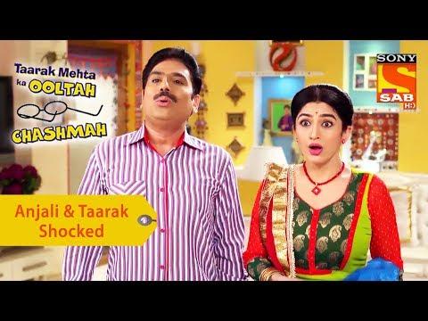 Your Favorite Character | Anjali & Taarak Are Shocked | Taarak Mehta Ka Ooltah Chashmah