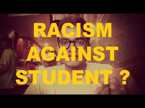 Racism against international student in the US - Is it true?   That Indian Guy