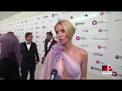 2016 ELTON JOHN'S OSCAR PARTY - RED CARPET INTERVIEWS BY FASHION PASSPORT TV