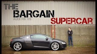 Audi R8 V8 supercar review / story