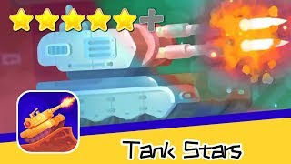 Tank Stars Day33 Ice And Fire Walkthrough Art of Explosion Recommend index five stars
