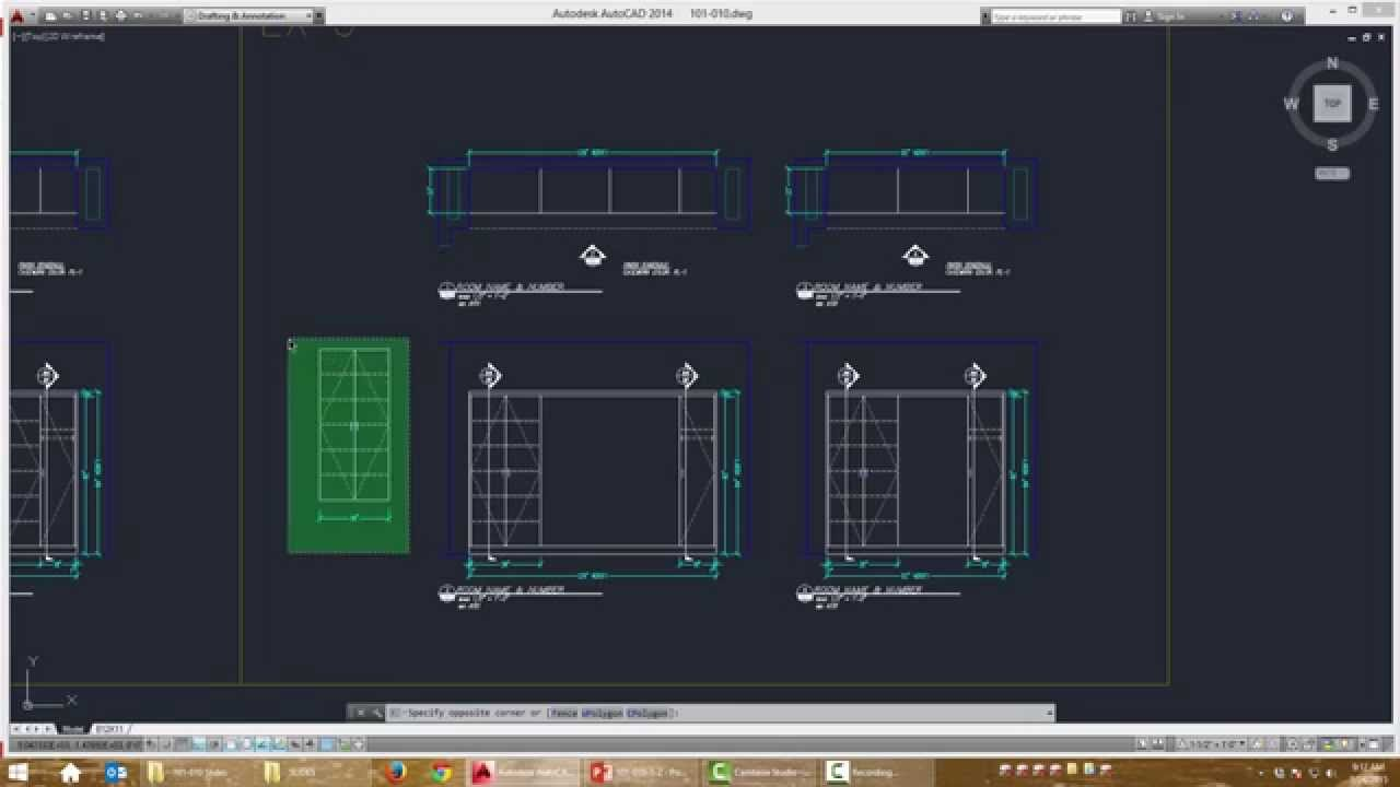 Cadkitchenplans com millwork shop drawings cabinet shop drawings - Basic Modify Direct Select Casework Millwork Shop Drawing Courses Youtube