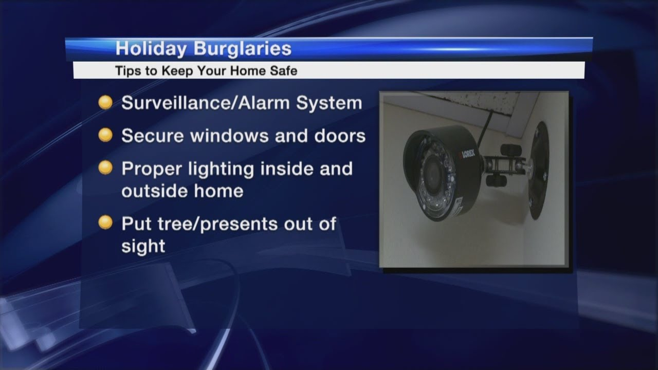 BCSO provides holiday burglary safety tips to keep your ...