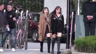 20181019 탈리아 뮤직뱅크(MusicBank) 출근길