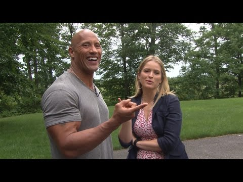 Secrets to Dwayne Johnson's Rock-Hard Abs | ABC World News Tonight | ABC News