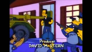Les Simpson Sale flic