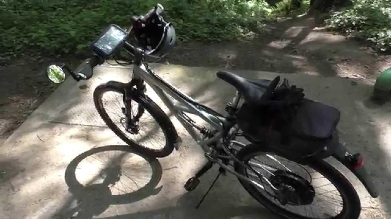 48V 1000W DIY eBike Vlog 005: eBike crash! - fixes & upgrades