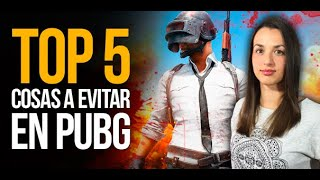 Top 5: Cosas a evitar en PUBG