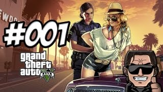 Let's Play GTA V (Grand Theft Auto 5)! [German/Deutsch] [HD] [PS3] #001 Der Überfall!