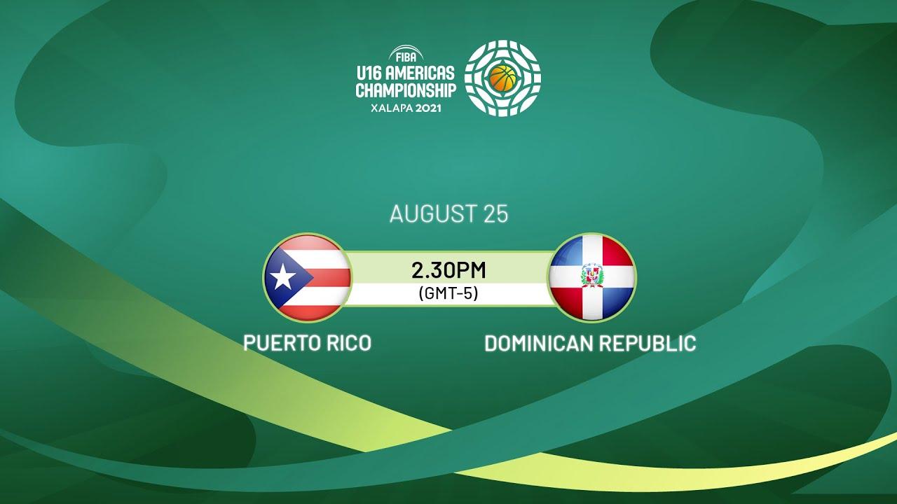 Download Puerto Rico v Dominican Republic | Full Game - FIBA U16 Americas Championship 2021