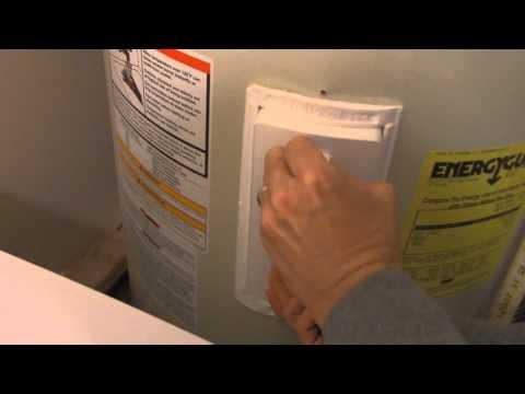 How to Reset a Water Heater Shut-off Button