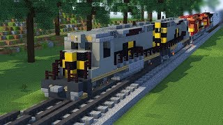 Minecraft Unstoppable Train Animation Part 4