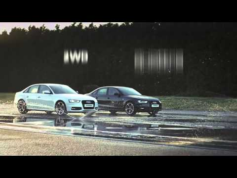 The power of Audi quattro all-wheel drive
