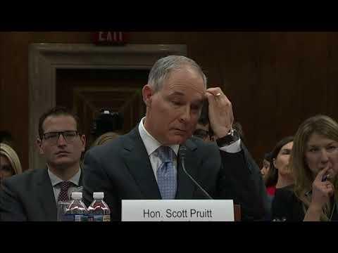 Scandal-plagued EPA Administrator Pruitt Resigns