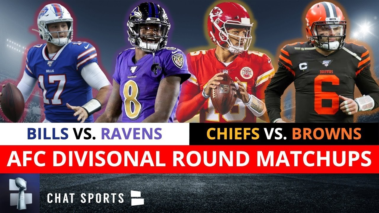 NFL Playoff Picture, Schedule, Bracket, Matchups, Dates & Times For AFC Playoffs Divisional Roun
