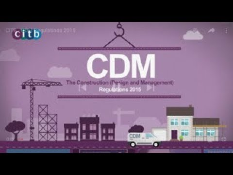 The Basics Of Construction (Design And Management) Regulations 2015