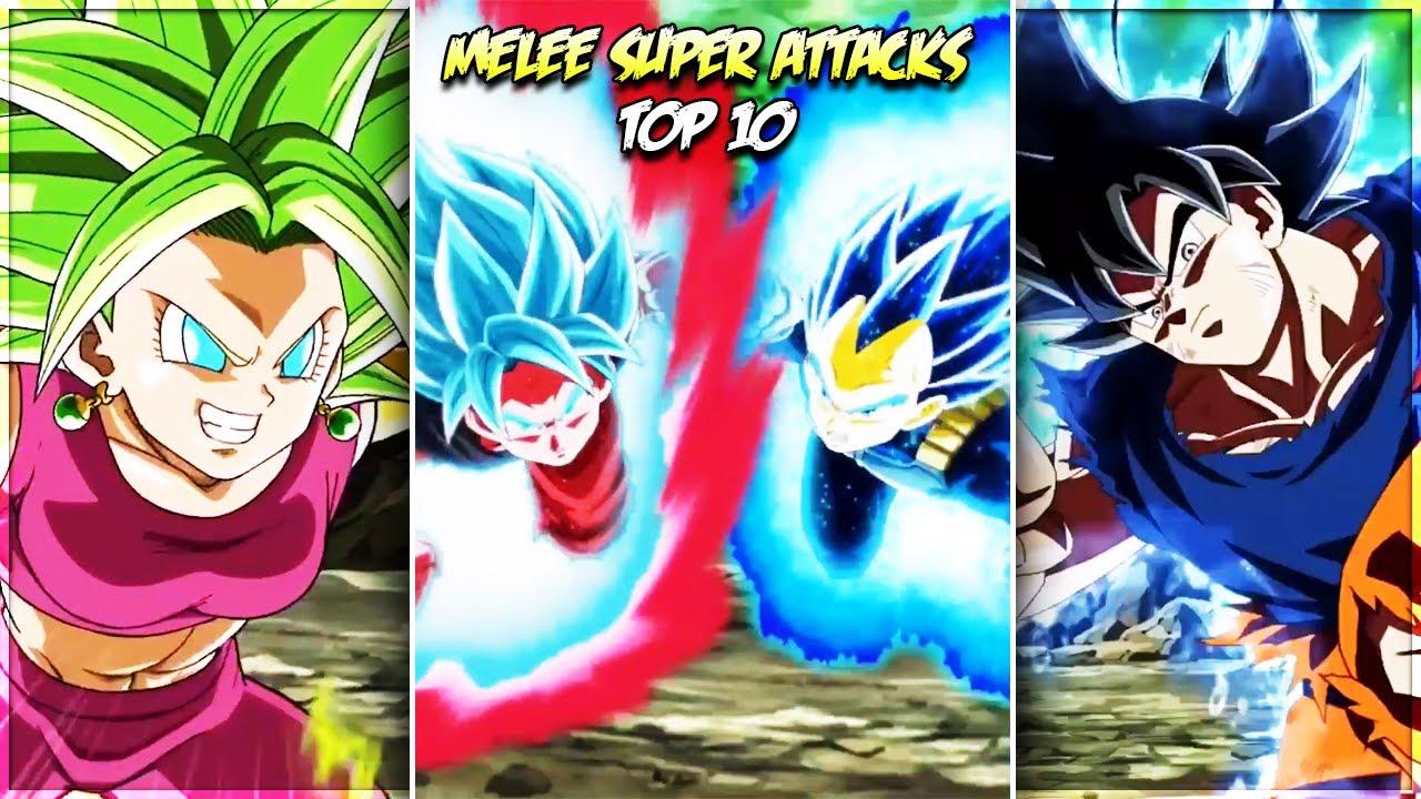 TOP 10 MELEE SUPER ATTACK ANIMATIONS! July 2020 DBZ Dokkan Battle