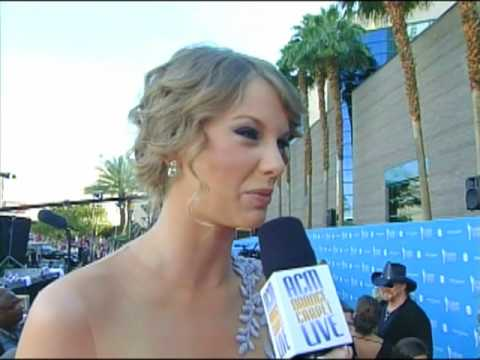 Academy of Country Music Awards - ACMA 45 - Orange Carpet Interview: Taylor Swift