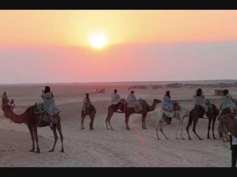 Em torno do Saara - região do Sahel