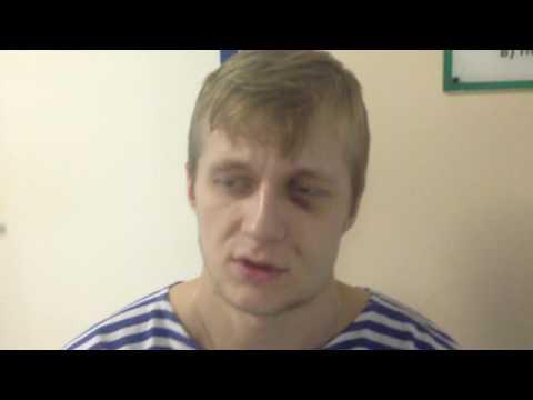 Избитый студент Ханты-Мансийского колледжа
