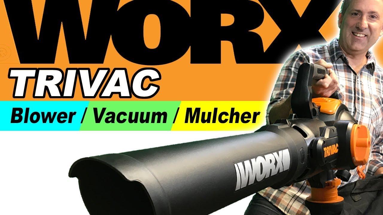 Download NEW WORX TRIVAC - Blower/Vacuum/Mulcher | Best Review 2019 🍁🍁