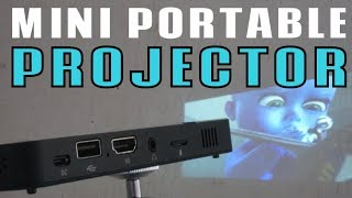 OTHA DLP Portable Mini Projector Review
