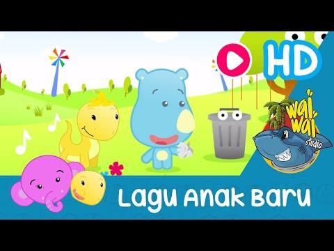 Lagu Anak Indonesia Baru - Tempat Sampah