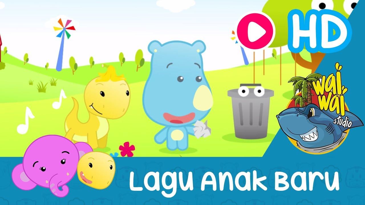 Download 4500  Gambar Animasi Anak Membuang Sampah Pada Tempatnya  Paling Baru