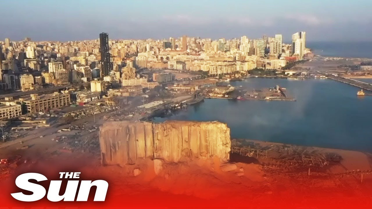 Live: View of Beirut port after massive blast in Lebanon