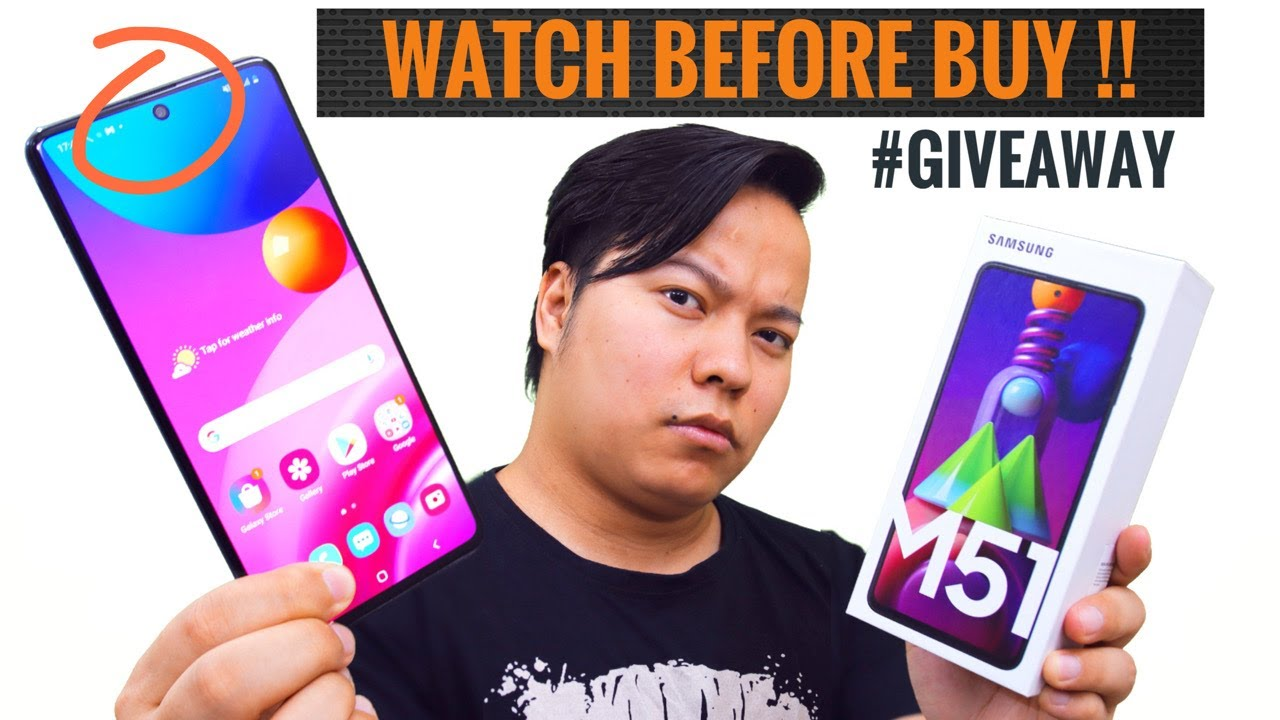 Samsung M51 Review : Watch Before You Buy + Giveaway 🎁🎁