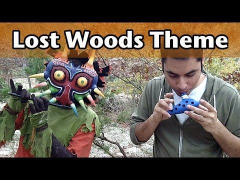 Ocarina   Majoras Ocarina  Part 3: Lost Woods Theme SONGBIRD OCARINA