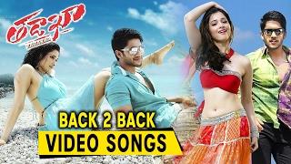 Tadakha Movie Video Songs Back 2 Back || Nagachaitanya, Sunil, Tamannah, Andrea