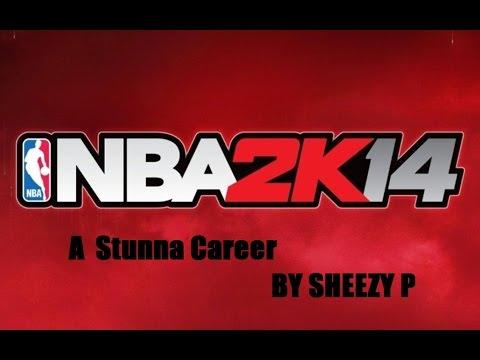 NBA 2K14 next gen A stunna career going H.A.M on the bulls