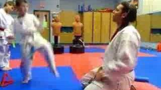 Paddle Kumite Drill with Blocking