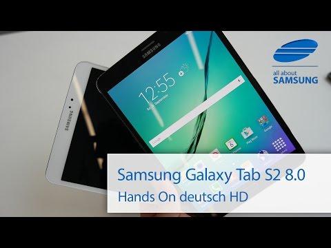 Samsung Galaxy Tab S2 8 0 Hands On deutsch HD
