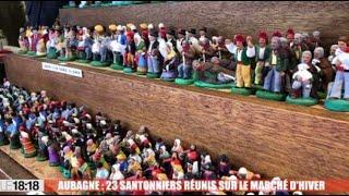 Aubagne : 23 santonniers réunis sur le marché d'hiver