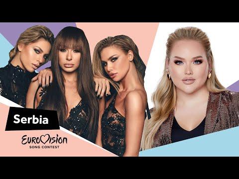 Eurovisioncalls Hurricane - Serbia 🇷🇸  with NikkieTutorials