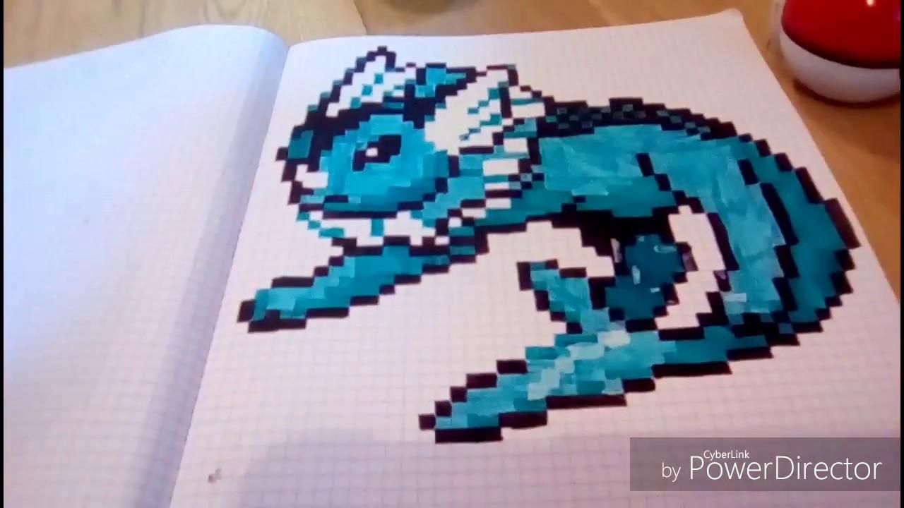Pixel Art Aquali Youtube