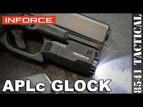 Inforce APLc GLOCK Pistol Light Review